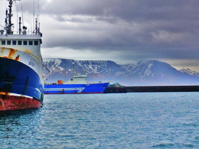 France Islande Bateau