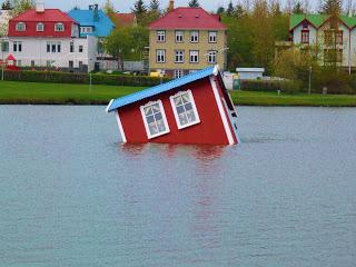 maison dans l'eau-Reykjavik