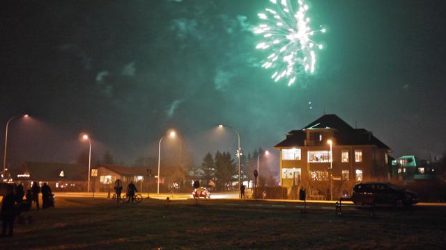 feu artifice reykjavik