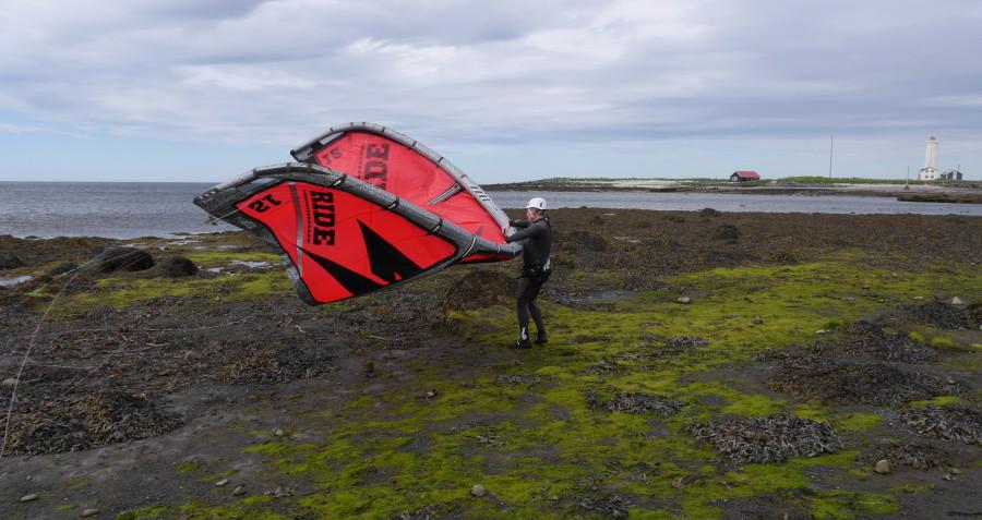 Kitesurf islande