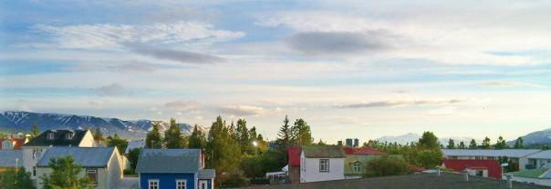 été éternel en islande