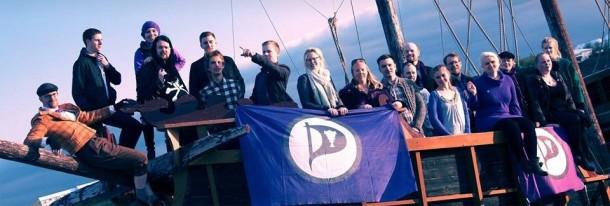 parti pirate en islande