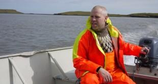 pêcheur en islande