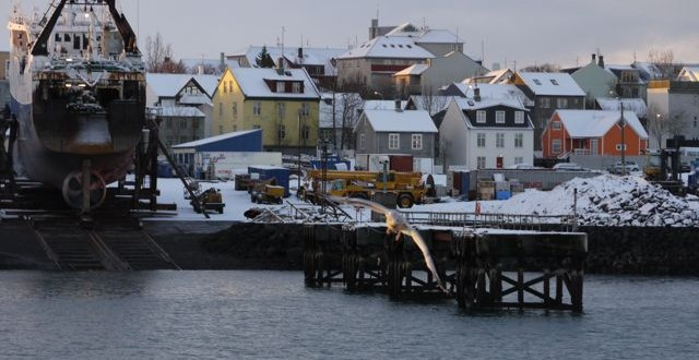 hiver en islande