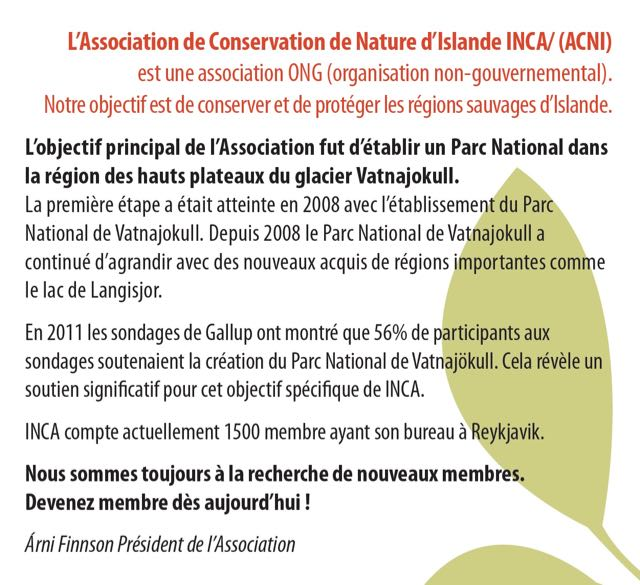 protection de la nature en islande
