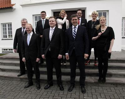 nouveau gouvernement islandais