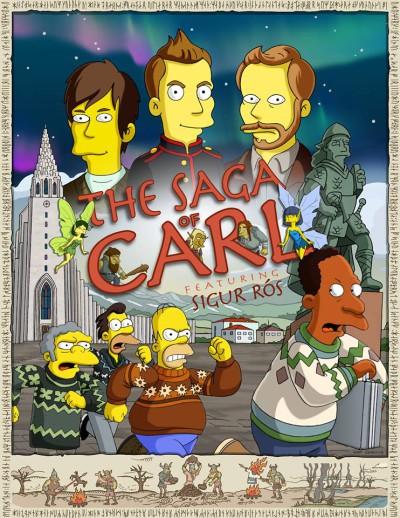 Sigur ros dans les Simpsons