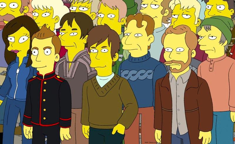 Sigur Ros et les Simpsons