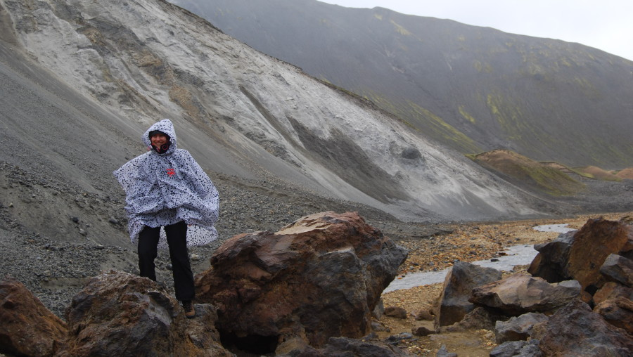 Elisa en Islande