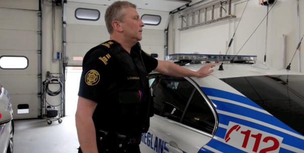 police islande