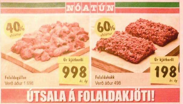 alimentation en islande