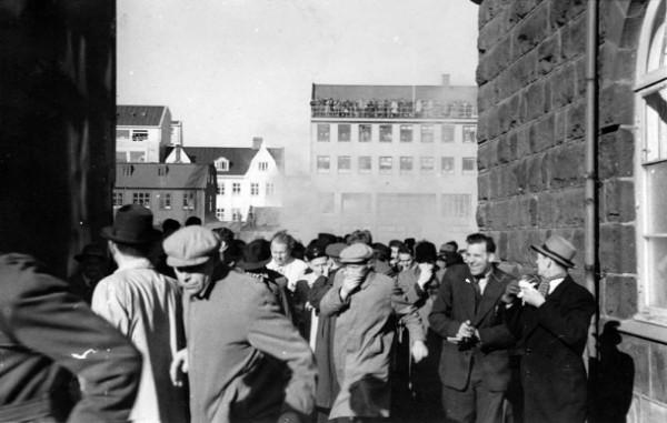 manifestation anti OTAN - 1949