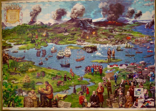 vieille carte islande